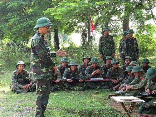 Tập huấn, bồi dưỡng nghiệp vụ hơn 4.600 cán bộ, giảng viên quân đội