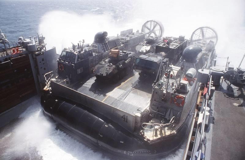 Tàu đổ bộ đệm khí LCAC của Hải quân Mỹ có gì đặc biệt?