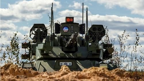 Khám phá đội quân robot chiến đấu của lực lượng vũ trang Nga