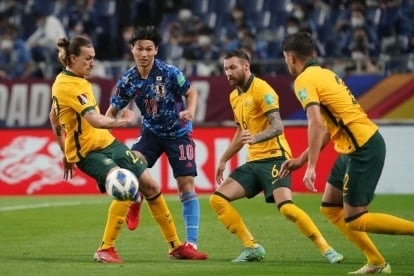 Vòng loại thứ 3 World Cup 2022: Nhật Bản thắng nhọc nhằn Australia