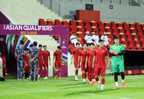 Bảng xếp hạng sau lượt trận thứ 4 của vòng loại thứ 3 World Cup 2022 khu vực châu Á