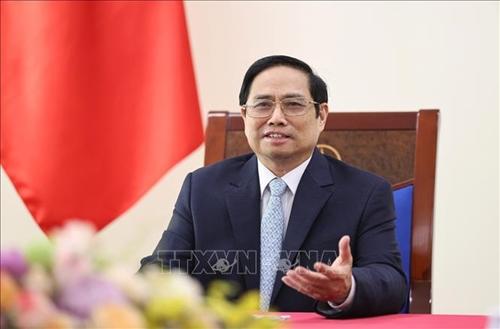 """Thủ tướng Phạm Minh Chính phát biểu chào mừng diễn đàn """"Tuần lễ năng lượng Nga"""""""