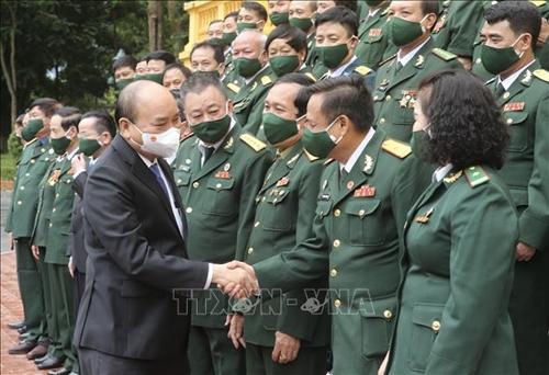 Chủ tịch nước Nguyễn Xuân Phúc gặp gỡ 45 doanh nhân cựu chiến binh tiêu biểu xuất sắc