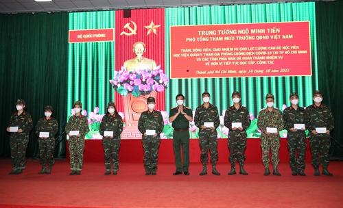 304 cán bộ, học viên Học viện Quân y hoàn thành nhiệm vụ chống dịch tại TP Hồ Chí Minh