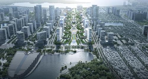 Định hình diện mạo khu vực trung tâm mới của Hà Nội