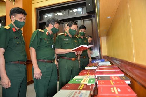 Thông qua kết quả biên soạn quyển Kỹ thuật-Hậu cần quân sự