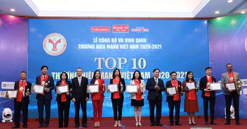 Masterise Homes-Top 10 Thương hiệu mạnh Việt Nam 2021