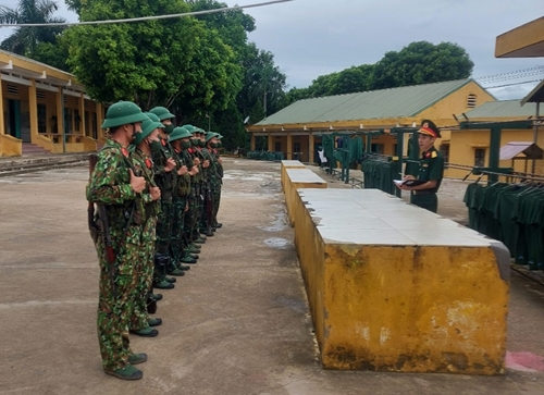 Sư đoàn 3, Quân khu 1 kiểm tra công tác xây dựng đơn vị vững mạnh toàn diện tại Trung đoàn 141