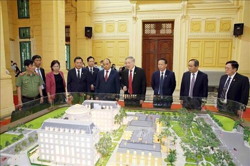 Xây dựng tòa án và nền tư pháp công khai, minh bạch, chịu sự giám sát của nhân dân