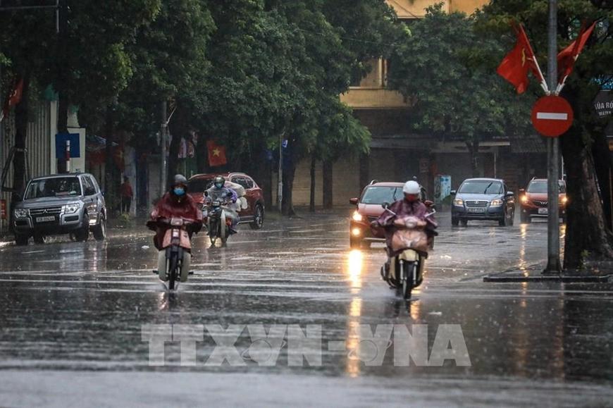Ngày và đêm nay không khí lạnh tăng cường, mưa lớn ở miền Trung kéo dài 3 ngày tới