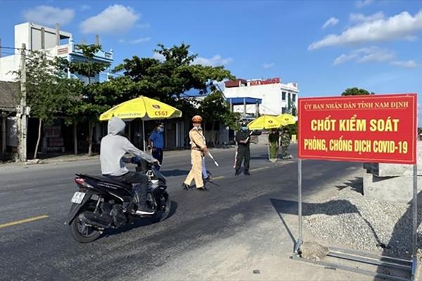 Từ mai 16-10 , người vào tỉnh Nam Định không phải xuất trình kết quả xét nghiệm SARS-CoV-2