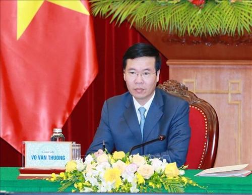 Việt Nam - Lào trao đổi kinh nghiệm về công tác xây dựng Đảng