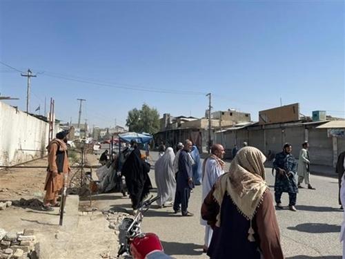 Nổ lớn tại thánh đường ở Afghanistan, gần 90 người thương vong