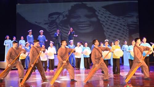 Báo cáo chương trình nghệ thuật kỷ niệm 60 năm Ngày mở Đường Hồ Chí Minh trên biển