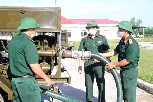 Tổng Công ty Xăng dầu Quân đội khai mạc huấn luyện dự bị động viên năm 2021