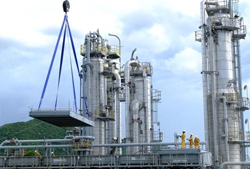 Hoàn thành bảo dưỡng sửa chữa - dừng khí tại GPP Dinh Cố