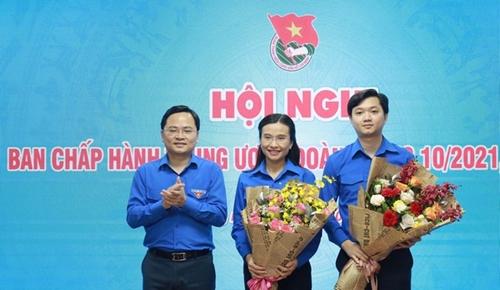 2 đồng chí  Nguyễn Minh Triết và Nguyễn Phạm Duy Trang được bầu bổ sung vào Ban bí thư TƯ Đoàn