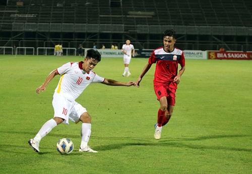 Highlights trận U23 Việt Nam-U23 Kyrgyzstan: Siêu phẩm được tái hiện