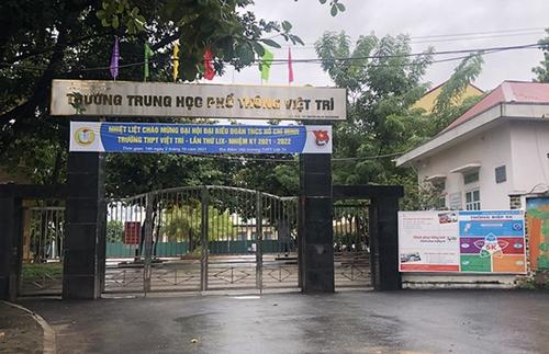 Phú Thọ: 45 trường hợp test nhanh dương tính với SARS-CoV-2, học sinh 2 huyện thị tạm nghỉ học