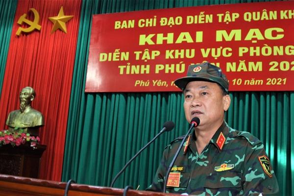 Khai mạc diễn tập khu vực phòng thủ tỉnh Phú Yên