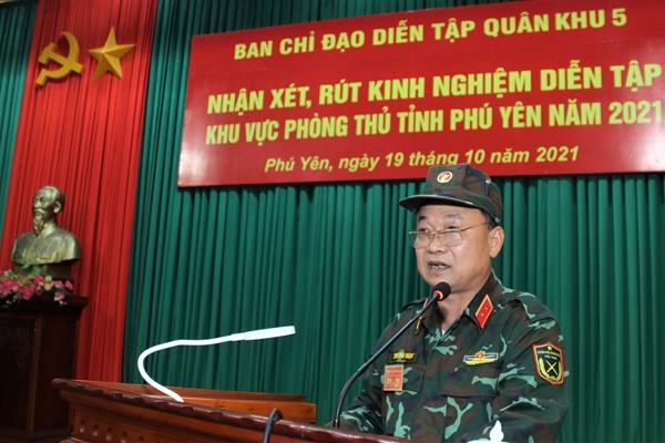 Phú Yên hoàn thành tốt diễn tập khu vực phòng thủ năm 2021