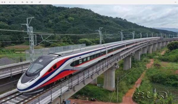 Tàu cao tốc Lane Xang Trung Quốc giao cho Lào được thiết kế ra sao