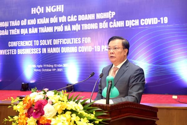 Hà Nội đối thoại với các doanh nghiệp có vốn đầu tư nước ngoài Thêm chính sách, biện pháp hỗ trợ gì