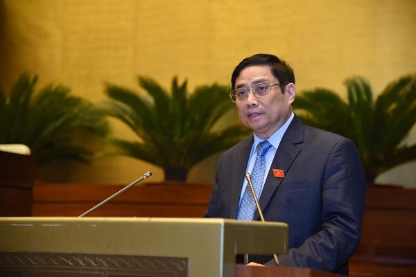 Thủ tướng báo cáo trước Quốc hội 2021 dự kiến đạt và vượt 8 12 chỉ tiêu kinh tế-xã hội