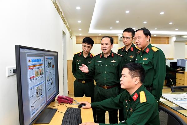 Tư duy số - từ khóa để Báo Quân đội nhân dân thành công
