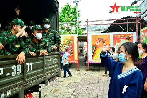 TP Hồ Chí Minh, Bình Dương, Long An:Tri ân lực lượng tuyến đầu