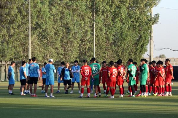 Lịch thi đấu U23 Việt Nam tại vòng loại U23 châu Á 2022