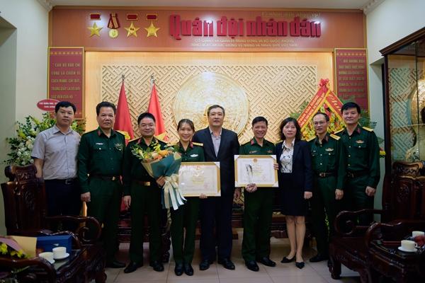 Báo QĐND đoạt giải Nhất, giải Nhì Giải thưởng báo chí về khoa học và công nghệ