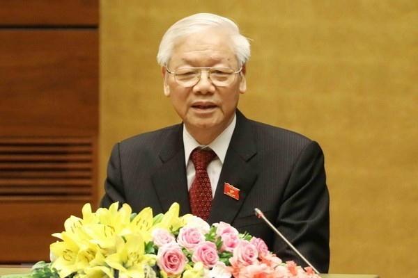 Tổng Bí thư Nguyễn Phú Trọng gửi thông điệp đến Tổng Bí thư Đảng Lao động Mexico