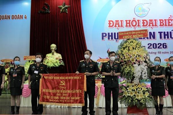 Quân đoàn 4 tổ chức Đại hội đại biểu Phụ nữ lần thứ VI