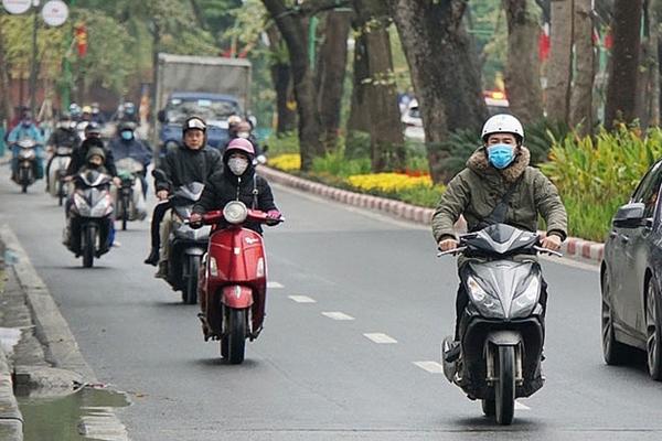 Thời tiết sáng 23-10 Bắc Bộ không khí lạnh tăng cường, mưa to từ Quảng Trị đến Phú Yên