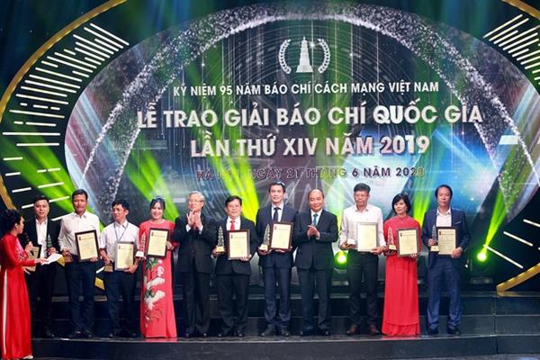 Danh sách 112 tác phẩm đoạt Giải Báo chí Quốc gia lần thứ XV, Báo Quân đội nhân dân đoạt 6 giải
