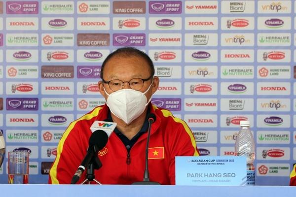 HLV Park Hang-seo chia sẻ gì trước trận gặp U23 Đài Loan Trung Quốc