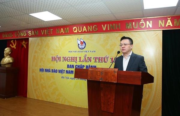Nhà báo Lê Quốc Minh, Tổng biên tập Báo Nhân Dân giữ chức Chủ tịch Hội Nhà báo Việt Nam