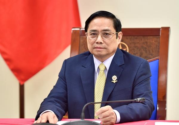 Thủ tướng Chính phủ Phạm Minh Chính đề nghị Anh chuyển giao công nghệ sản xuất vắc xin phòng Covid-19