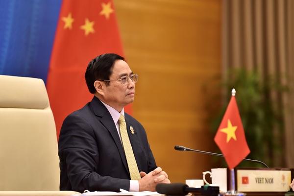 Thủ tướng Chính phủ Phạm Minh Chính dự Hội nghị Cấp cao ASEAN-Trung Quốc