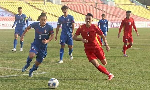 Video clip hay trận U23 Việt Nam-U23 Đài Loan Trung Quốc