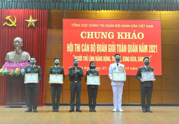 Hội thi Cán bộ đoàn giỏi toàn quân năm 2021 thành công tốt đẹp