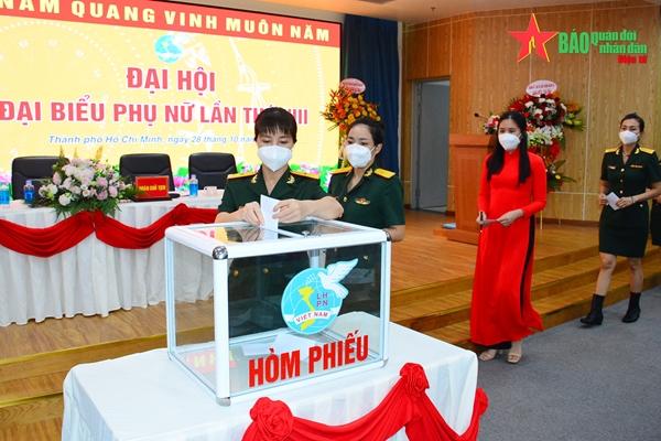 Bệnh viện Quân y 175 tổ chức Đại hội Đại biểu Phụ nữ bệnh viện lần thứ VIII