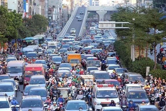 87 trạm thu phí phương tiện ra vào nội đô Hà Nội được đặt ở đâu