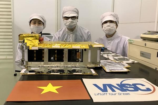 Ngày 7-11, vệ tinh NanoDragon của Việt Nam sẽ được phóng lên quỹ đạo