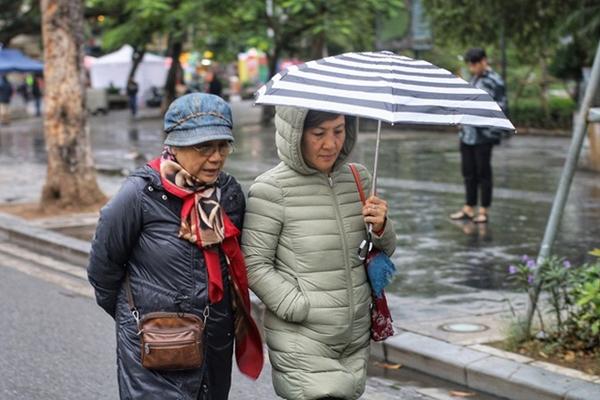 Thời tiết ngày 28-10 Các tỉnh Đông Bắc Bộ và Hà Nội mưa rét