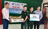 Bộ đội Biên phòng TP Hồ Chí Minh tiếp nhận chuyển giao mô hình nuôi vịt biển