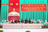 Lực lượng vũ trang Thành phố Hồ Chí Minh thi đua hoàn thành xuất sắc nhiệm vụ bầu cử