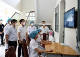 Trường học trở thành bệnh viện dã chiến