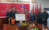 崑嵩省515指导委员会与老挝南寮三省特别工作委员会举行会谈